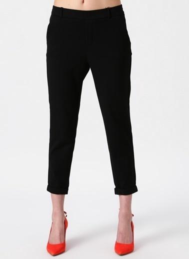 Vero Moda Vero Moda Klasik Siyah Kadın Pantolon Siyah